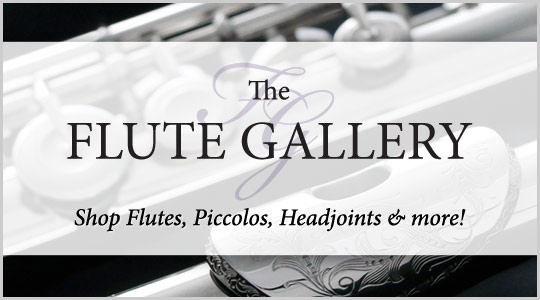 Schmitt Music Flute Gallery: Shop Flutes, Piccolos, Headjoints and more!