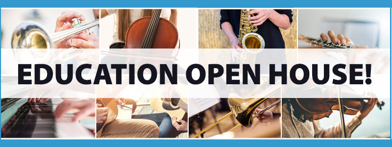 Music Education Open House Events for New Students