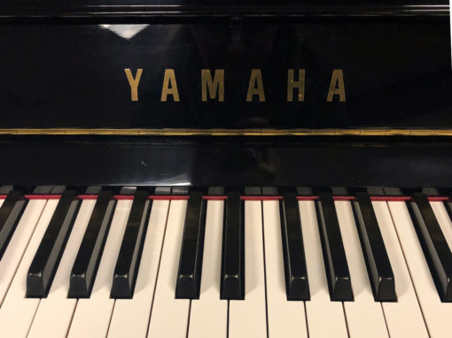 Used Yamaha U1 Ebony Polish Upright Piano