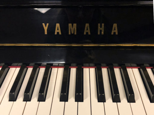 Used Yamaha U1 Ebony Polish Upright Piano