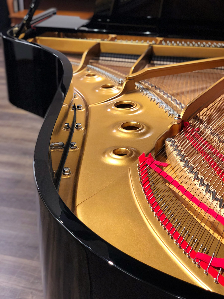 Used Steinway B Ebony Polish Grand Piano