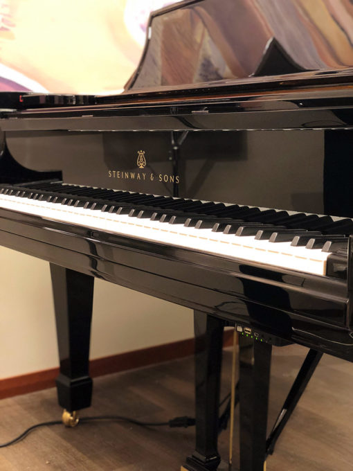 Used Steinway B Ebony Polish Grand Piano