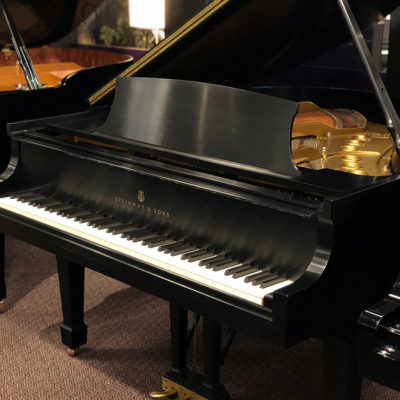 Used Steinway M Ebony Satin Grand Piano