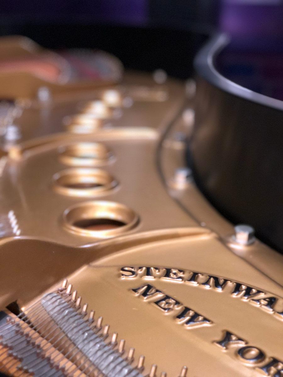 Used Steinway M Ebony Satin Grand Piano