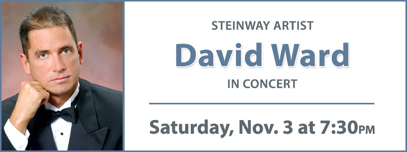 Steinway Artist David Ward in Concert at Schmitt Music Denver