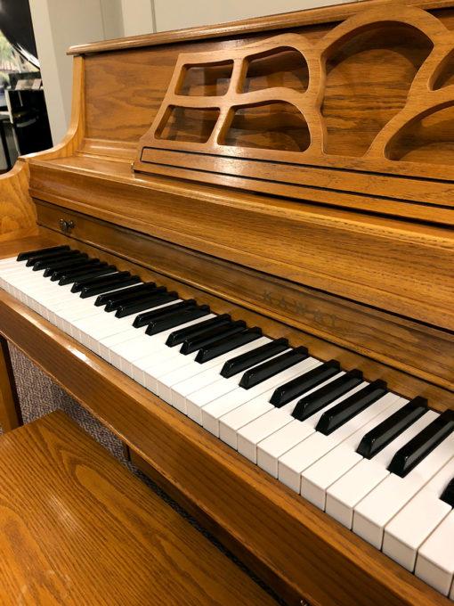 Used Kawai 503M Oak Console Piano