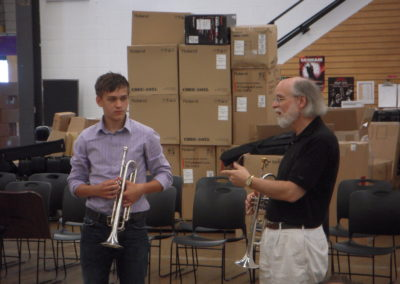 Dr. David Baldwin at Trumpet Bootcamp
