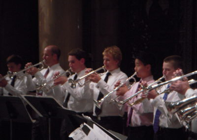 Trumpet Choir at 2012 Bootcamp