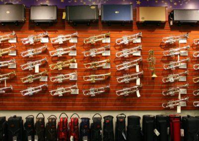 Trumpet Shop Wall