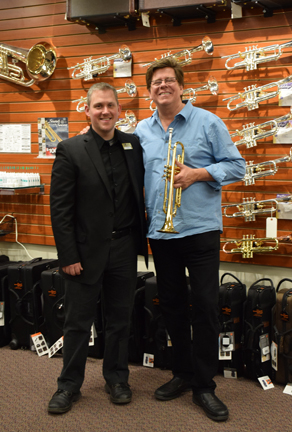 Wayne Bergeron in the Trumpet Shop (Dec. 4, 2005 Clinic with Yamaha artist Wayne Bergeron)
