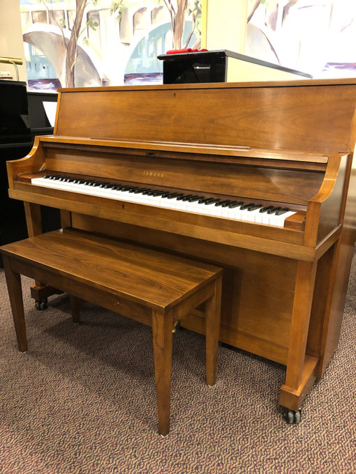 Used Yamaha P22 Walnut Upright Piano
