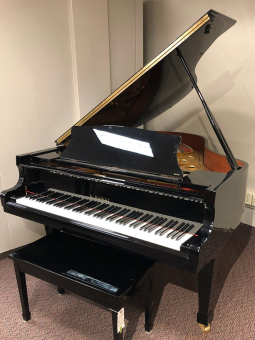 "Used Kawai RX2 5' 10.5"" Ebony Polish Grand Piano"