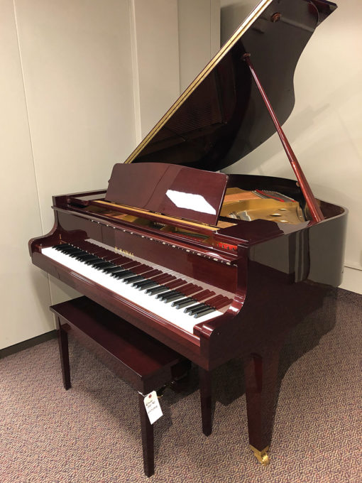 "Used Kawai GE30 5'5"" Mahogany Polish Grand Piano"