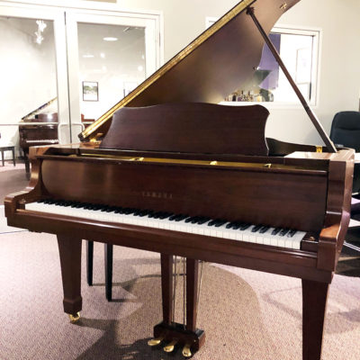 "Used Yamaha G2 5'8"" Walnut Satin Grand Piano"
