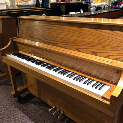 Used Boston 118S Oak Upright Piano