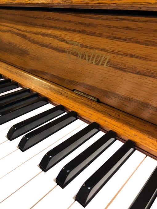 Used Boston 118S Oak Upright Piano