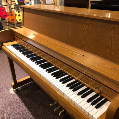 Used Kawai 506 Oak Upright Piano
