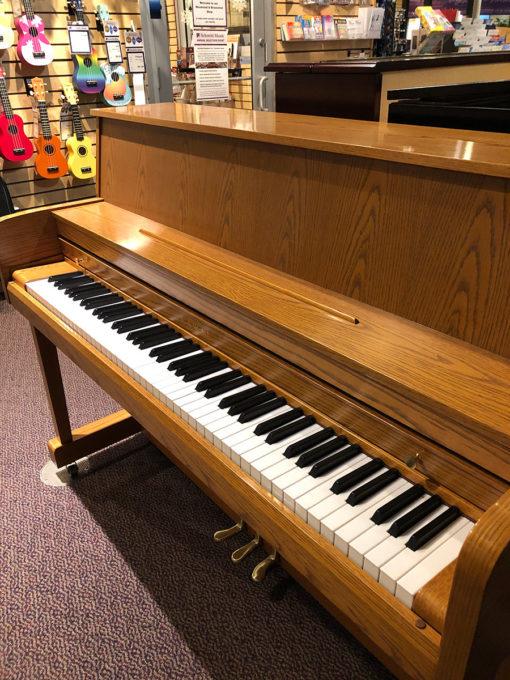 Used Kawai 506 Oak Upright Piano