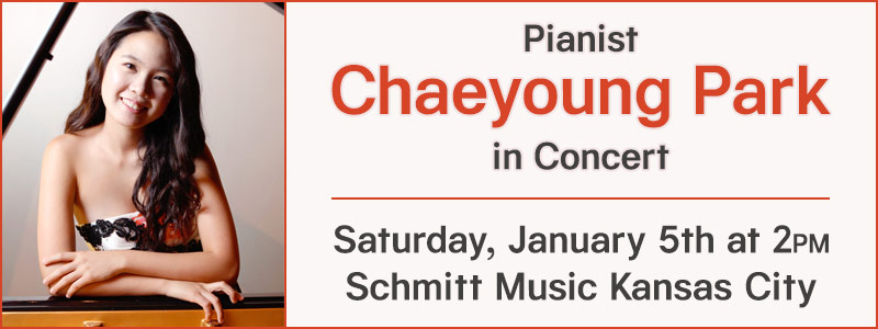Pianist Chaeyoung Park in Concert at Schmitt Music