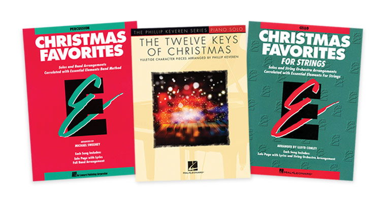 Sheet Music Books Holiday Gift Guide