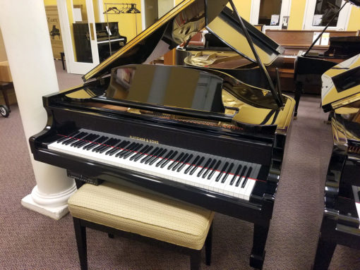 Used Fletcher & Sons Baby Grand Player Piano