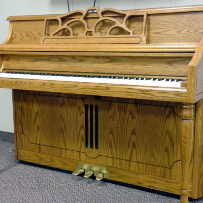 Used Kohler & Campbell Oak Satin Console Piano