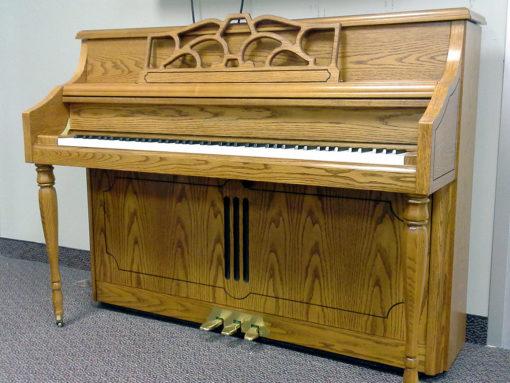 Used Kohler & Campbell Oak Satin Console Piano