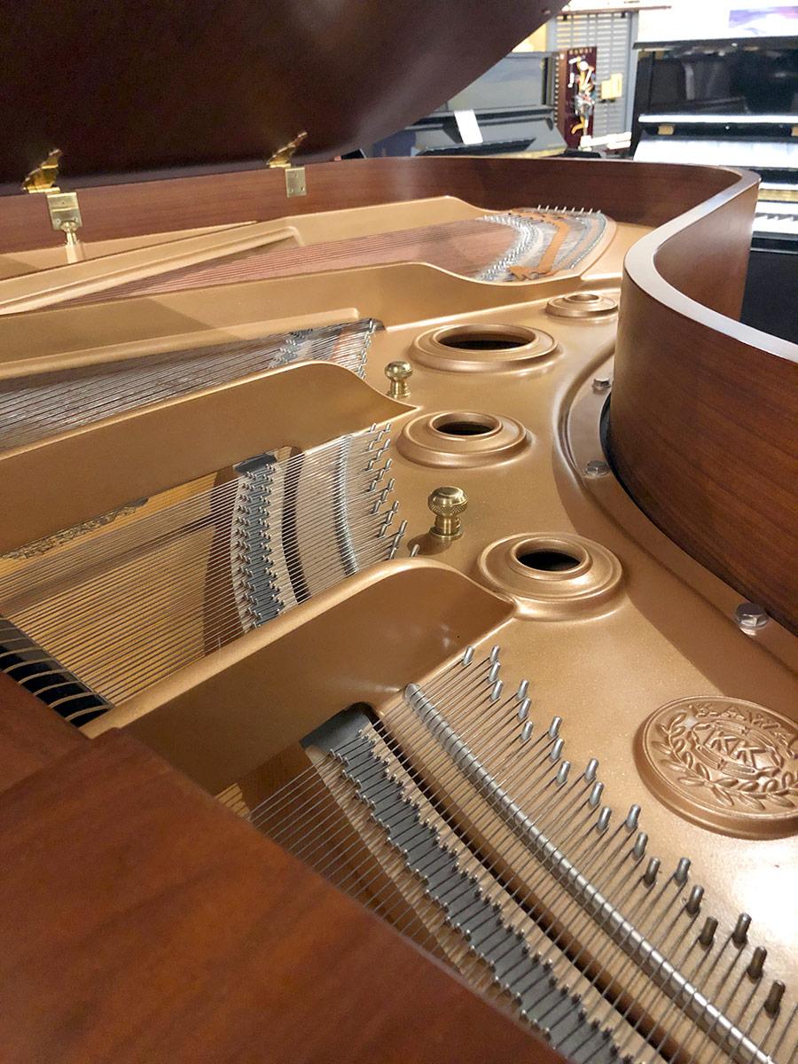 """Used Kawai KG-5D 6'8"""" Walnut Satin Grand Piano"""