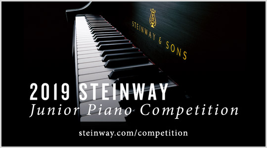 Steinway Junior Piano Competition June 21 23