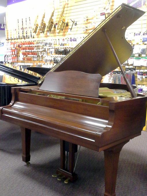 """Used Yamaha C3 6'1"""" Walnut Satin Grand Piano"""
