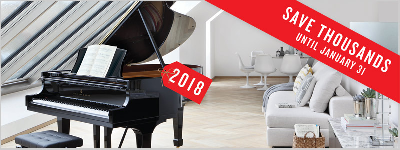 Steinway & Sons Piano Price Rollback Event