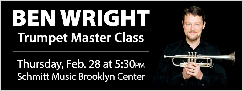 Ben Wright Trumpet Master Class in Brooklyn Center