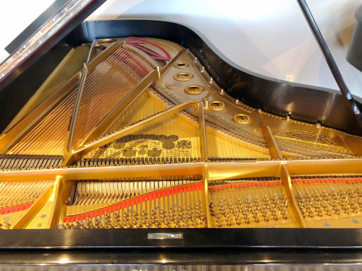 "Used Steinway Model B 6'11"" Ebony Satin Grand Piano"
