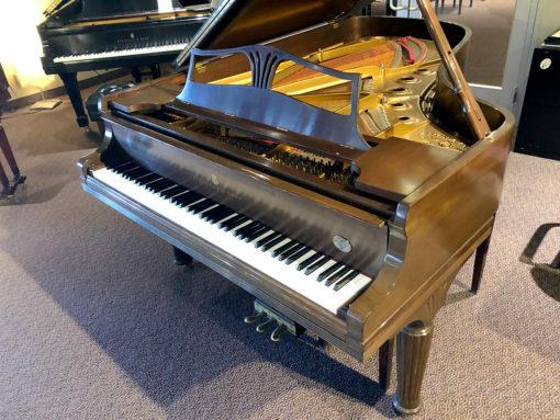 """Used Steinway Model B 6'11"""" Mahogany Satin Grand Piano"""