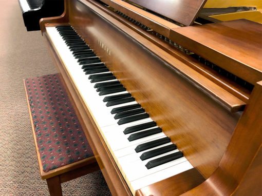 "Used Yamaha Gh-1 5'3"" Walnut Satin Grand Piano"