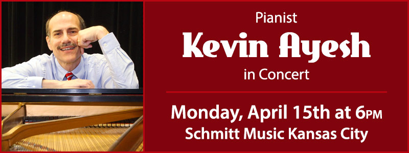 Kevin Ayesh in Concert at Schmitt Music Kansas City