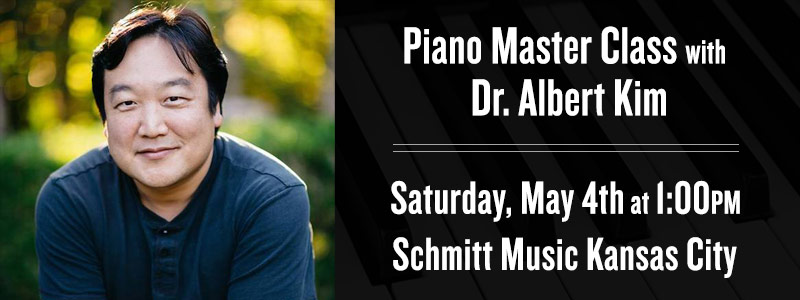 Piano Master Class with Dr. Albert Kim at Schmitt Music Kansas City