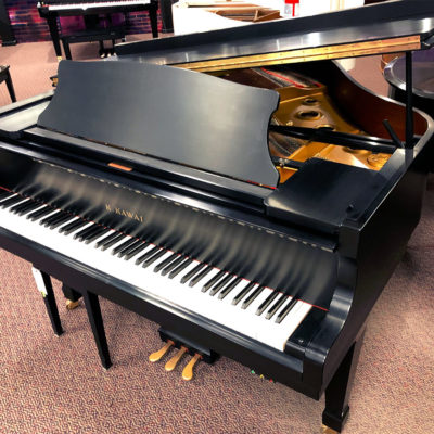 """Used Kawai RX-1 5'5"""" Ebony Satin Grand Piano"""