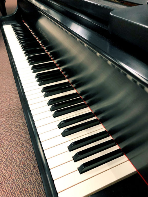 "Used Kawai RX-1 5'5"" Ebony Satin Grand Piano"