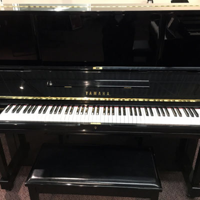"Used Yamaha WX-3 52"" Ebony Polish Upright Piano"