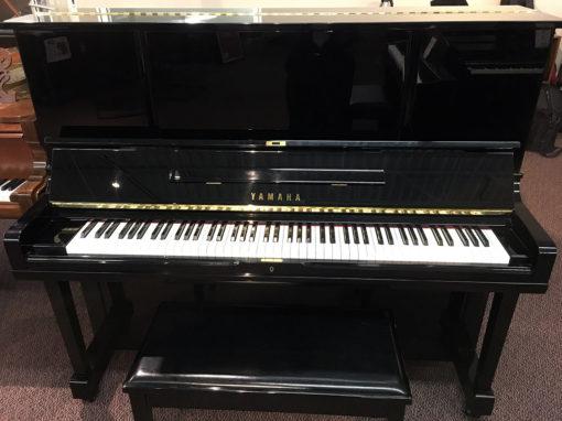 """Used Yamaha WX-3 52"""" Ebony Polish Upright Piano"""