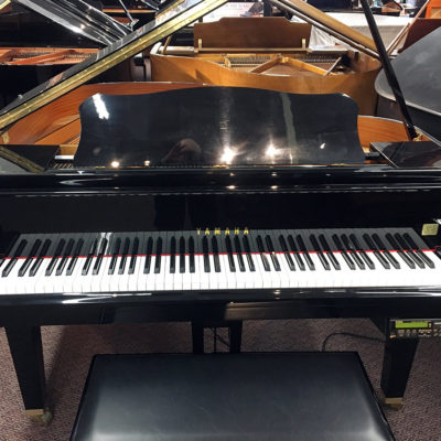 "Used Yamaha DGA1 4'11"" Ebony Polish Grand Piano"