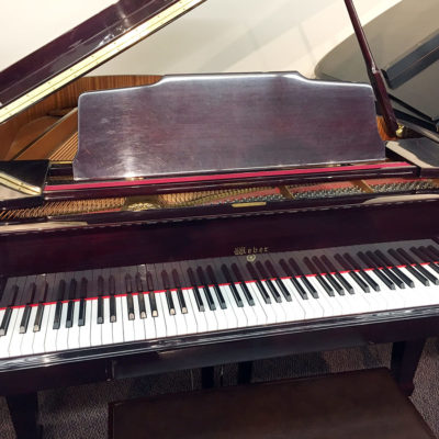 "Used Weber WG175 5'9"" Mahogany Polish Grand Piano"