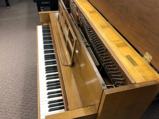 """Used Steinway F 40"""" Walnut Upright Piano"""