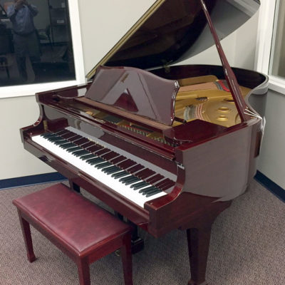 Used Kohler & Campbell Red Mahogany Grand Piano