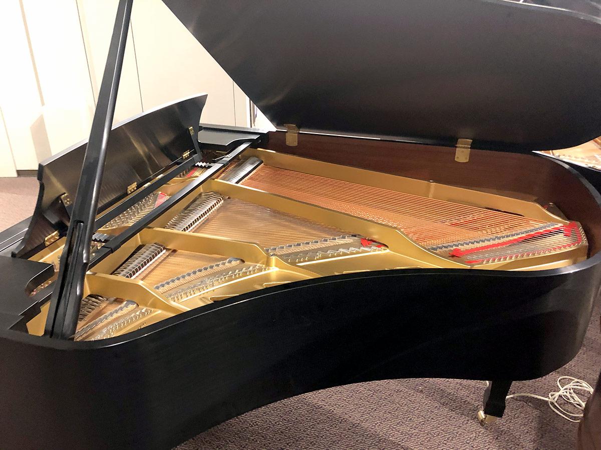 "Used Boston GP-178 II 5'10"" Ebony Satin Grand Piano"