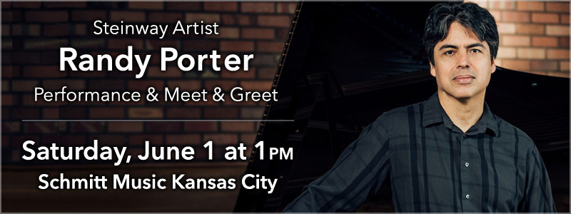 Steinway Artist Randy Porter & Friends at Schmitt Music Kansas City