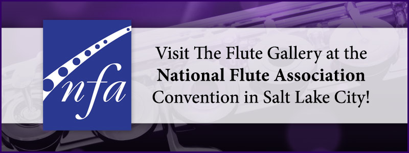 The Flute Gallery is headed to the NFA Convention in Salt Lake City!