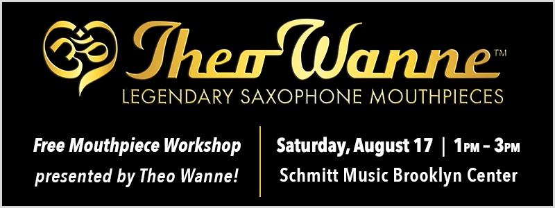 Theo Wanne Mouthpiece Workshop at Schmitt Music Brooklyn Center