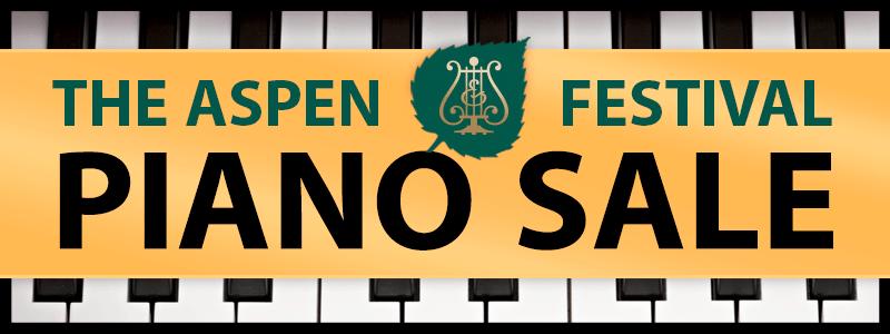 Aspen Festival Steinway Piano Sale 2019